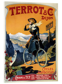 Acrylic print  Terrot & Cie Dijon bicycles and motorcycles - Advertising Collection