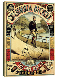 Canvas print  Columbia Bicycles - Advertising Collection