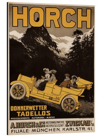 Aluminium print  Horch cars - Golly impeccable - Advertising Collection