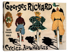 Canvas print  Georges Richard bicycles - Fernand Fernel