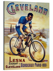 Aluminium print  Cleveland Bicycles - Advertising Collection