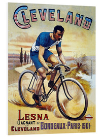 Foam board print  Cleveland Bicycles - Advertising Collection