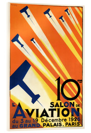 Acrylic glass  10 Salon de Aviation - Paris 1926