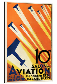 Aluminium print  10 Salon de Aviation - Paris 1926 - Advertising Collection