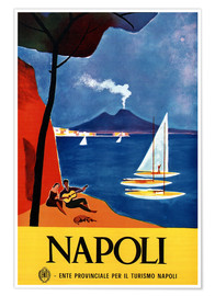 Premium poster  Naples, Italy - Travel Collection