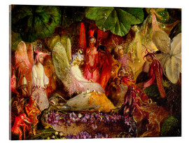 Acrylic print  The fairy banquet, 1859 - John Anster Fitzgerald