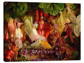 Canvas print  The fairy banquet, 1859 - John Anster Fitzgerald