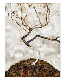 Premium poster  Small Tree in Late Autumn - Egon Schiele