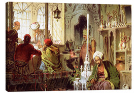 Canvas print  Ottoman Coffee House - Amadeo Preziosi