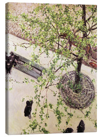 Canvas print  Boulevard from above - Gustave Caillebotte