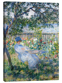 Canvas print  La Terrasse (The Terrace) - Claude Monet