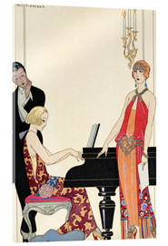 Acrylic print  Incantation, illustration for Gazette du Bon Ton, 1922 - Georges Barbier