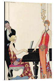 Aluminium print  Incantation, illustration for Gazette du Bon Ton, 1922 - Georges Barbier