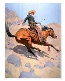 Premium poster  The Cowboy - Frederic Remington