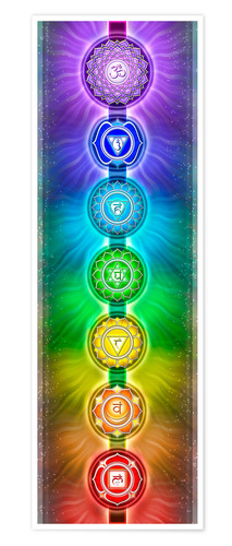 Poster The Seven Chakras - Series II