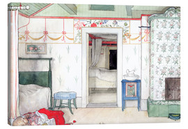 Canvas  Brita's Forty Winks - Carl Larsson