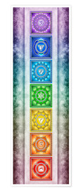 Premium poster The Seven Chakras - Series II -Artwork II