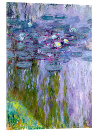 Acrylic print  Waterlilies - Claude Monet