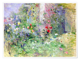 Premium poster  The Garden at Bougival - Berthe Morisot