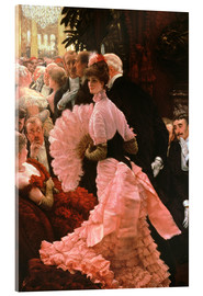 Acrylic print  The Reception - James  Tissot