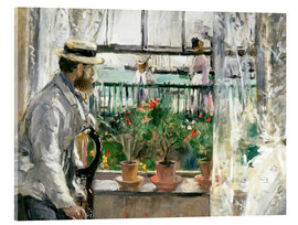 Acrylic print  Manet on the Isle of Wight - Berthe Morisot