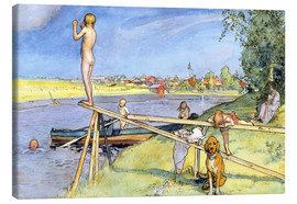 Carl Larsson - A Pleasant Bathing Place