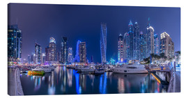 Canvas print  Dubai Marina Luxury - Stefan Schäfer