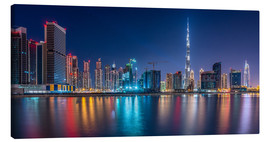 Canvas print  Dubai Skyline - Stefan Schäfer