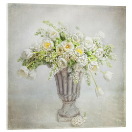 Acrylic print  Spring bouquet - Lizzy Pe