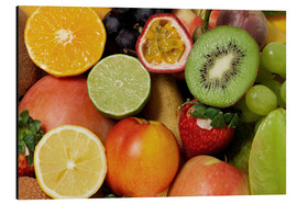 Aluminium print  Fruits Background - Thomas Klee