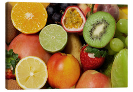 Canvas print  Fruits Background - Thomas Klee