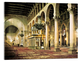Acrylic print  The Umayyad Mosque in Damascus