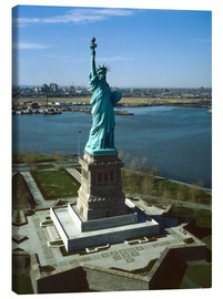 Canvas print  Statue of Liberty in New York, 1978