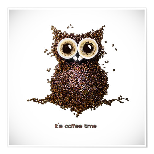 Premium poster [coffee time]