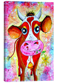 Canvas print  Cow Karla - siegfried2838