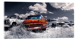 Acrylic print  Route66 - car dump - Michael Rucker