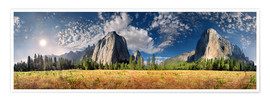 Premium poster  Yosemite Valley El Capitan - Michael Rucker