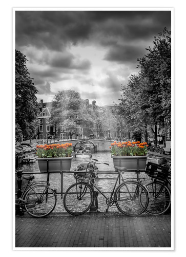 Premium poster Typical Amsterdam II
