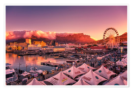 Premium poster  Victoria & Alfred Waterfront, Cape Town, South Africa - Stefan Becker