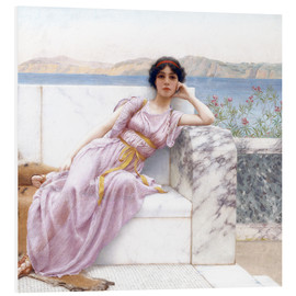 Foam board print  Eighty and eighteen - John William Godward