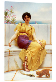 Acrylic print  Idleness - John William Godward