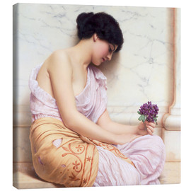 Canvas print  Violets, sweet violets - John William Godward