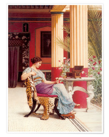 Premium poster  The Jewel Casket - John William Godward