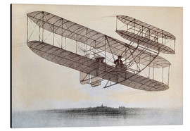 Alu-Dibond  Plane of the Wright brothers