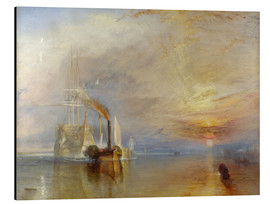 Aluminium print  The fighting Temeraire - Joseph Mallord William Turner