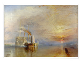 Premium poster  The fighting Temeraire - Joseph Mallord William Turner