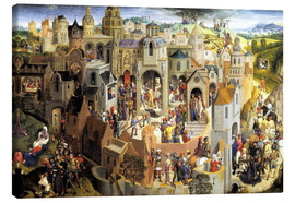 Canvas  Passion of the Christ - Hans Memling