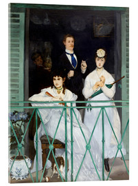 Acrylic glass  The Balcony - Edouard Manet
