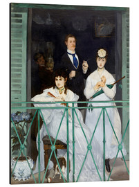 Aluminium print  The Balcony - Edouard Manet