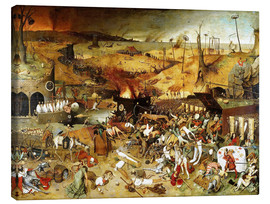 Canvas print  The Triumph of Death - Pieter Brueghel d.Ä.